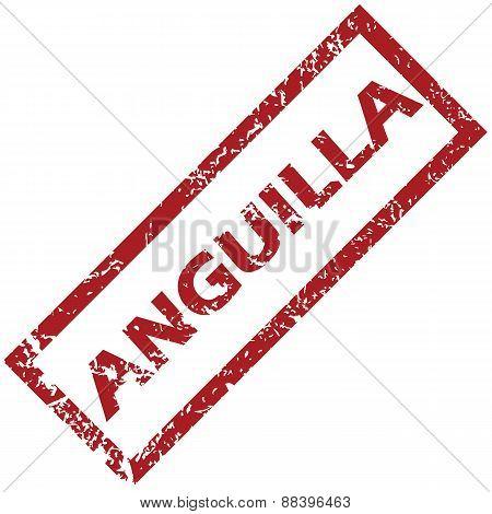 New Anguilla rubber stamp