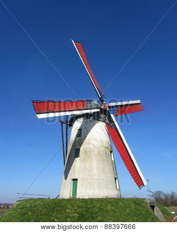 Schelderomolen, Merelbeke, Belgium