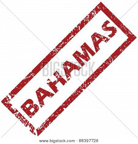 New Bahamas rubber stamp