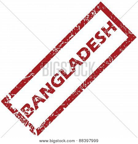New Bangladesh rubber stamp