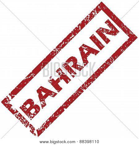 New Bahrain rubber stamp