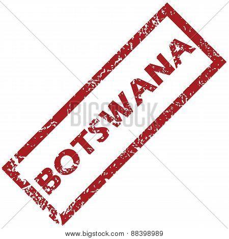 New Botswana rubber stamp