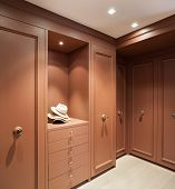 image of wardrobe  - Interior beautiful apartment - JPG