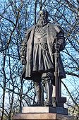 foto of duke  - Monument to the Duke of Prussia Albrecht founder of the Koenigsberg University - JPG