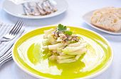 image of chicory  - Chicory salad typical of the city of Rome - JPG