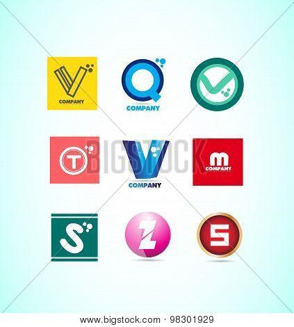 Alphabet Letter Logo Set