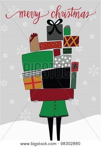 Christmas Present Stack