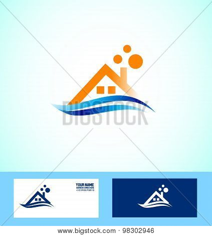 Real Estate House Icon Logo
