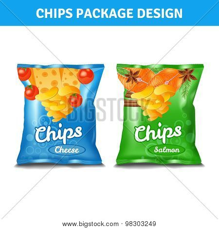 Chips Pack Design