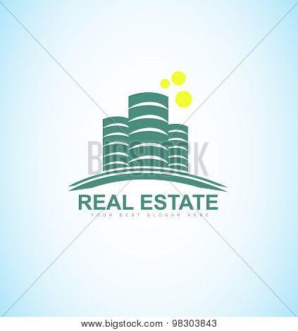 Real Estate Blue Logo