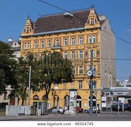 Buildings In Vienna.