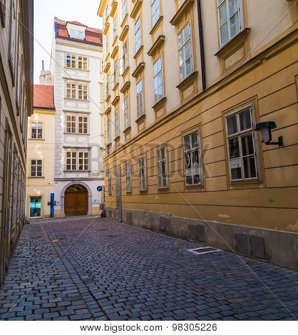 Blutgasse Street And Mozarthaus Vienna