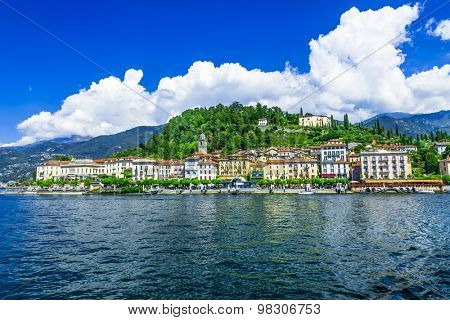 view of Bellagio - beautiful town of Lago di Como, north of Ital