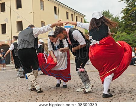Folk Dance Ensemble From Calabria, Italy