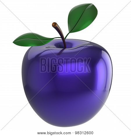 Blue Apple Experiment Poison Food Research Nutrition Anomaly