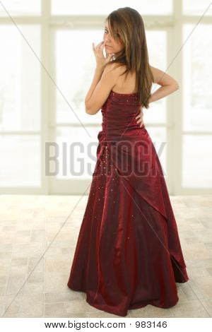 Beatiful Teen In Formal
