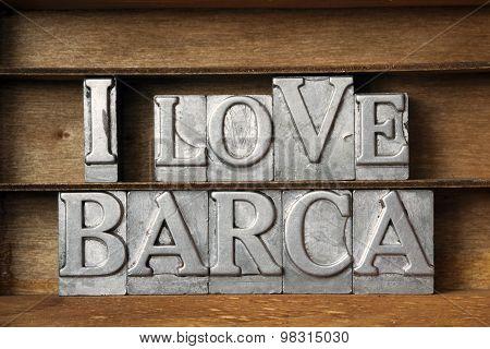 Love Barca