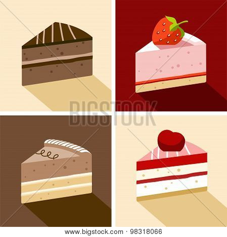 Cake, Dessert, Chocolate, Str...