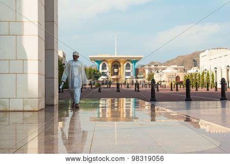 Royal Palace In Mascat, Oman