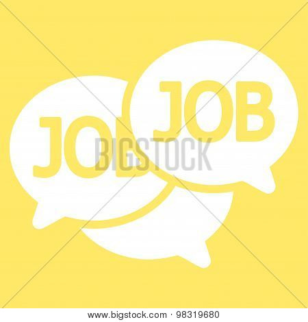 Labor Market icon from Business Bicolor Set