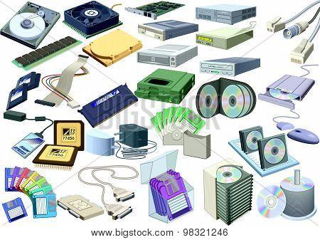 Set - Computer World (accessory) [