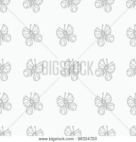 Monochrome Butterfly.
