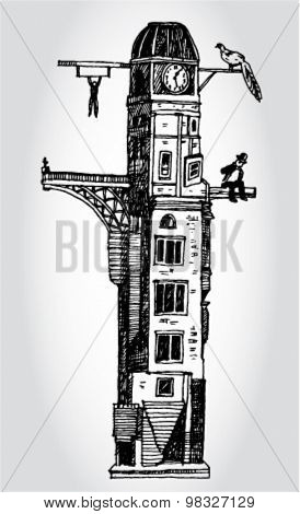 Illustration of Tower