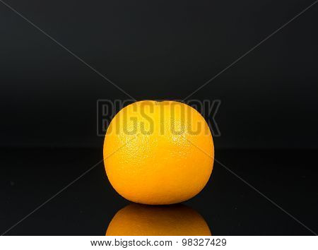 Fruity Raw Orange Isolated
