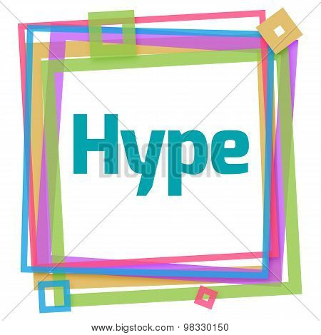 Hype Colorful Frame
