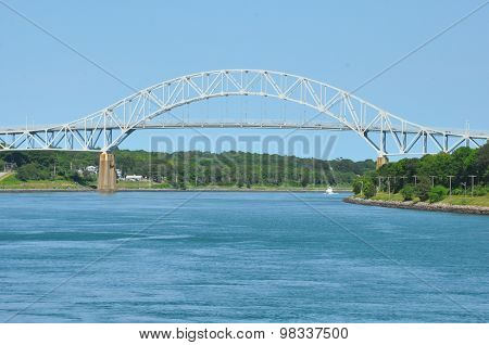 Sagamore Bridge across the Cape Cod Canal