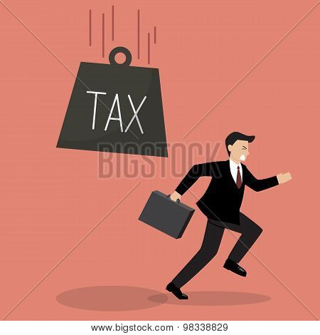 Businessman Run Away From Heavy Tax