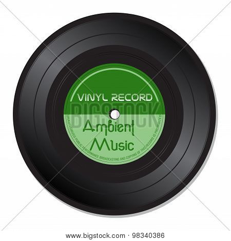 Ambient music vinyl record