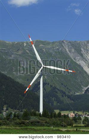 Alpine Windmill