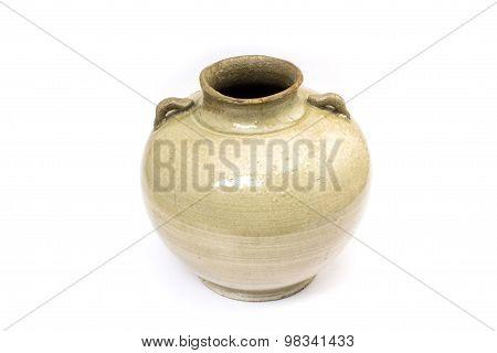 An old earthenware jar