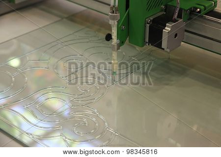 Equipment For Painting On Glass
