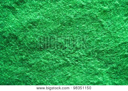 Green Carpet Texture Or Background