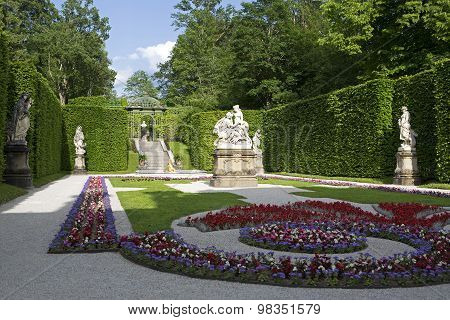 Castle Park Of Linderhof, Bavaria