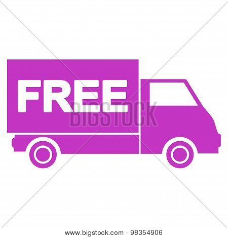 Free shipment icon from Business Bicolor Set