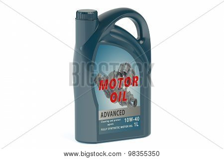 Blue Canister Motor Oil 1L