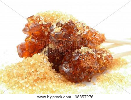Brown sugar crystal