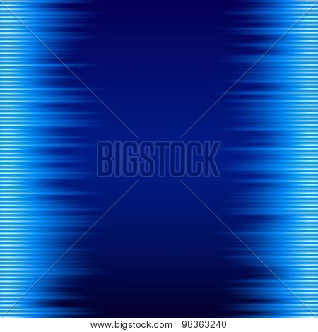 Abstract Background Label Ice Needles Frost Effect Iny