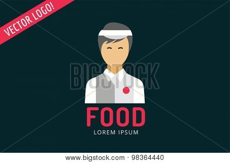 Chinese fast food objects objects set. Meat product, man, noodles, water, china, noodlies, mobile restaurant, fast food, lunch time. Design elements.