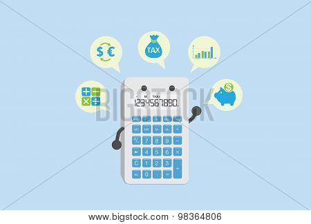 Calculate finance with calculator