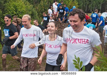Dirty cross-country race. Tyumen. Russia
