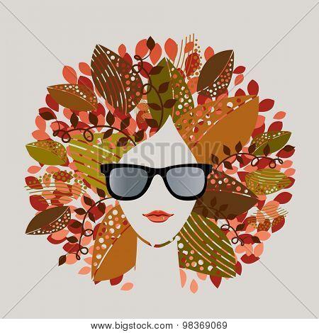 Fall autumn seasonal woman