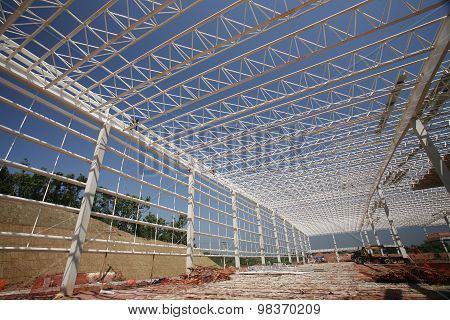 Construction Of Industrial Sheds
