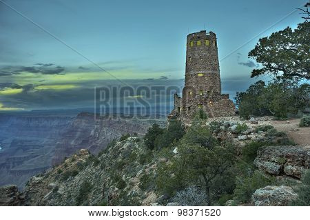 Watchtower,grand Canyon, National Park, Arizona