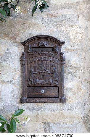 old mailbox iron