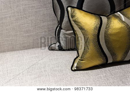 Luxury Chair And Cushion