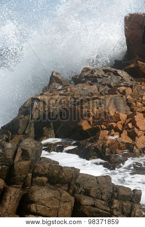 rocks and waves 5